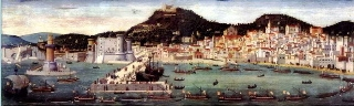 Naples in the time of Joanna's grandfather, Robert the Wise, about 1340.