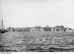 Alexandria in the 1930's, facing the Palace.