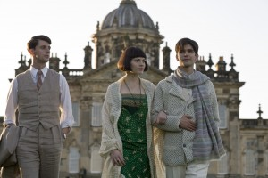 Lovely actors Matthew Goode, Hayley Atwell and Ben Whishaw ponder life in a lengthy Brideshead Revisited movie.