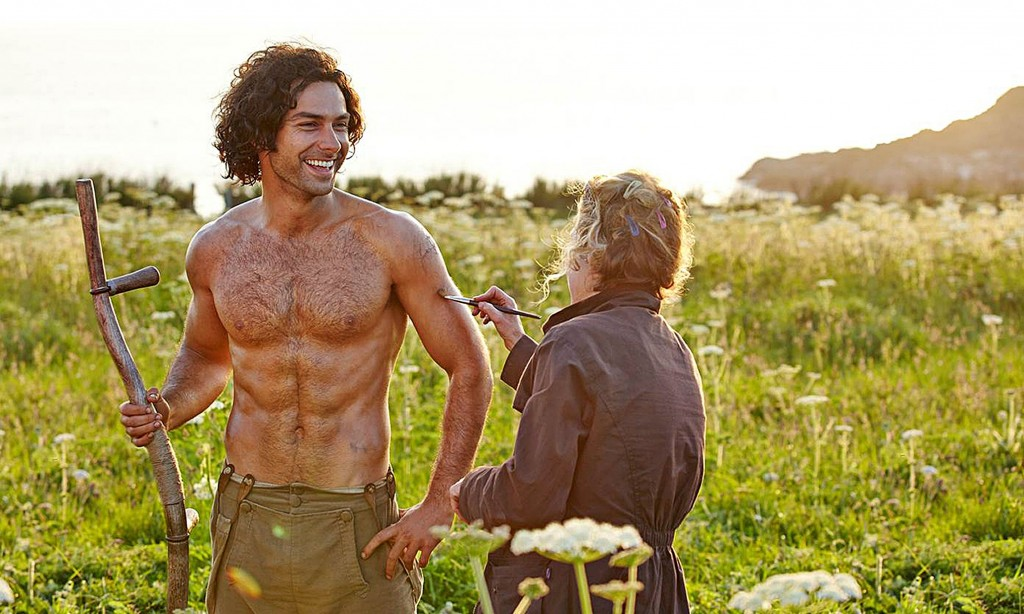 Aiden Turner as Ross Poldark. Setting female hearts aflutter since 2015.